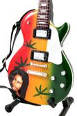 Miniature Guitar BOB MARLEY Les Paul