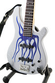 Miniature Bass Robert Trujillo METALLICA Blue Flames