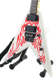 Miniature Guitar Kerry King SLAYER Flying V White