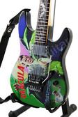 Miniature Guitar Kirk Hammett Metallica DRACULA Art Style