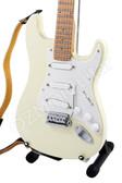 Miniature Guitar Jimi Hendrix Woodstock Ivory