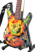 Miniature Guitar Kirk Hammett METALLICA Cult Theme One Eye