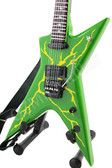 Miniature Guitar Dimebag Washburn Slime Bolt