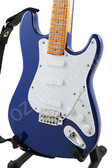 Miniature Guitar Strat BLUE Color