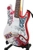 Miniature Guitar Jimi Hendrix MONTEREY POP