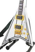 Miniature Guitar Jackson RR1 Randy Rhoads White V