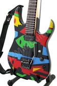 Miniature Guitar John Petrucci CUBIST Picasso