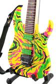 Miniature Guitar Steve Vai JEM Swirl