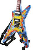 Miniature Guitar Dean Concrete Sledge ML ROSEBURST