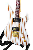Miniature Guitar Synyster Gates AVENGED SEVENFOLD White
