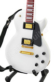 Miniature Guitar LP White