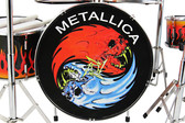 METALLICA Miniature Drum Set PROPORTIONAL