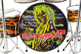 IRON MAIDEN Miniature Drum Set PROPORTIONAL