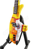 Miniature Guitar THE BEATLES Yellow Submarine Bass