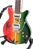 Miniature Guitar Bob Marley Les Paul MARIJUANA