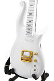 Miniature Guitar PRINCE Cloud White