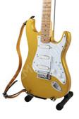 Miniature Guitar Eric Clapton 1996 Custom GOLDLEAF