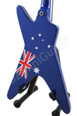 Miniature Guitar Washburn Dime AUSTRALIA Flag