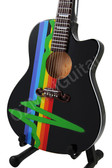 Miniature Acoustic Guitar PINK FLOYD