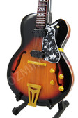Miniature Electric Guitar Elvis Presley