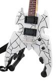 Miniature Guitar Paul Stanley KISS Broken Mirror