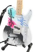 Miniature Guitar Bruce Springsteen Art Series
