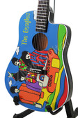 Miniature Guitar THE BEATLES Yellow Submarine Acoustic