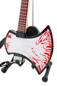 Miniature Guitar Gene Simmons KISS Blood AXE Bass