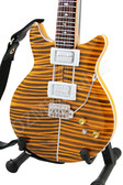 Miniature Guitar Carlos Santana PRS Tiger Eye