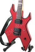 Miniature Guitar Slipknot Warlock HATE Dark Red