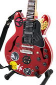 Miniature Guitar Alvin Lee SG ES-335