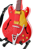 Miniature Guitar Brian Setzer RED