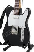 Miniature Guitar Jon Bon Jovi Black Telecaster