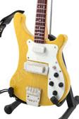 Miniature Bass Guitar Paul McCartney THE BEATLES 4001S