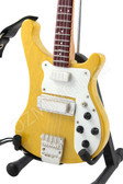 Miniature Bass Guitar Paul McCartney THE BEATLES 4001S