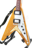 Miniature Guitar Flying V 1959 Natural