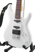 Miniature Guitar Joe Satriani White