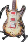 Miniature Guitar Richard Z Kruspe ESP RZK-1 Burnt Signature