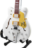 Miniature Guitar Brian Setzer Stray Cats White Falcon SG