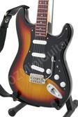 Miniature Guitar Stratocaster Sunburst