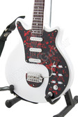 Miniature Guitar Brian May QUEEN White