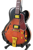 Miniature Guitar Lee Ritenour Jazz L-5 Sunburst