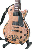 Miniature Guitar James Hetfield METALLICA Tribute to Cliff Burton