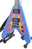 Miniature Guitar James Hetfield METALLICA Flying Fire