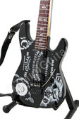Miniature Guitar Kirk Hammett Metallica OUIJA - Skull on neck