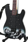 Miniature Guitar Jimi Hendrix Black Tribute