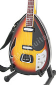 Miniature Bass Guitar Bill Wyman ROLLING STONES Iconic 1960s