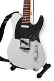 Miniature Guitar STATUS QUO Rick Parfitt White Telecaster