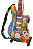 Miniature Bass Guitar Jack Bruce The Fool