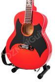 Miniature Acoustic Guitar Johnny Cash 1957